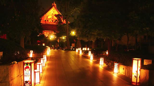 浅草燈籠祭の画像