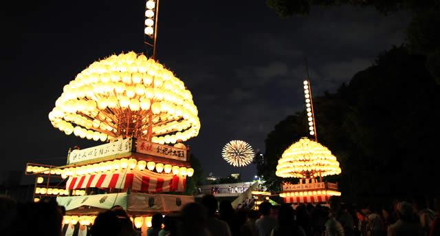 熱田祭り花火大会の画像