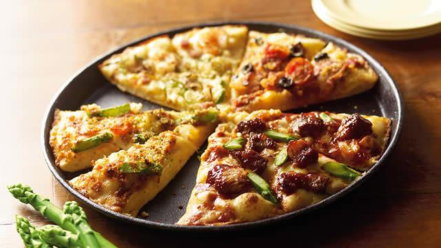 ドミノ・ピザ 感謝祭 Lサイズ半額