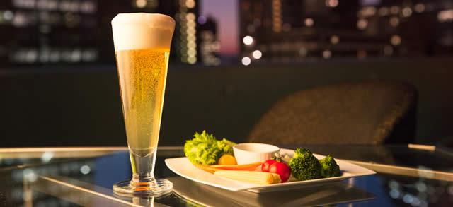 新宿ヒルトン東京 天空のビアガーデン2014の画像
