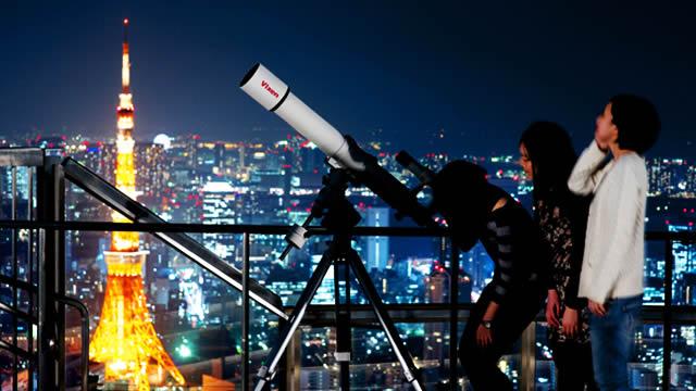 ふたご座流星群観察会@六本木ヒルズの画像
