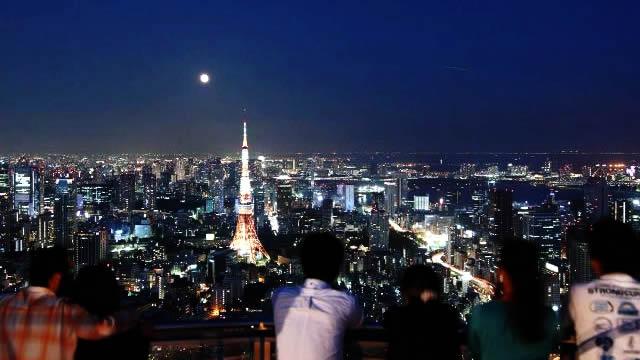 皆既月食観察会@六本木ヒルズの画像