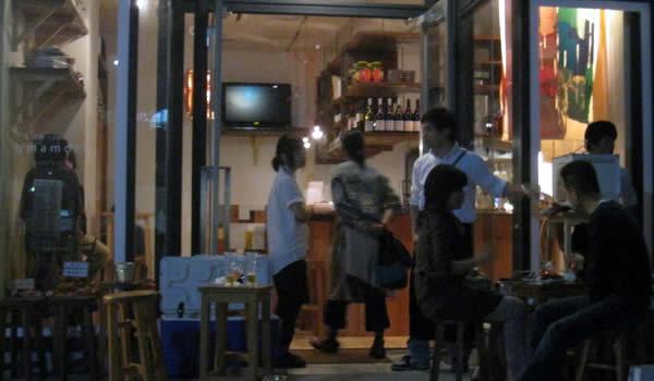 目黒川 桜 小料理バル おまもり中目黒画像