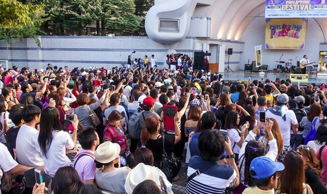 フィリピンフェスティバル日比谷公園