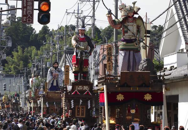 佐原の大祭秋祭りの画像