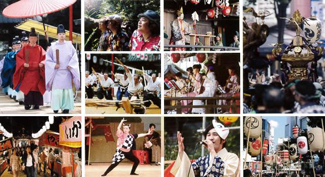 渋谷金王八幡宮例大祭の画像