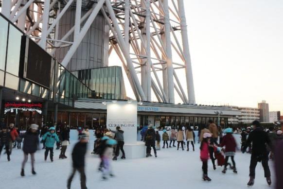 東京スカイツリータウン アイススケートリンクの画像