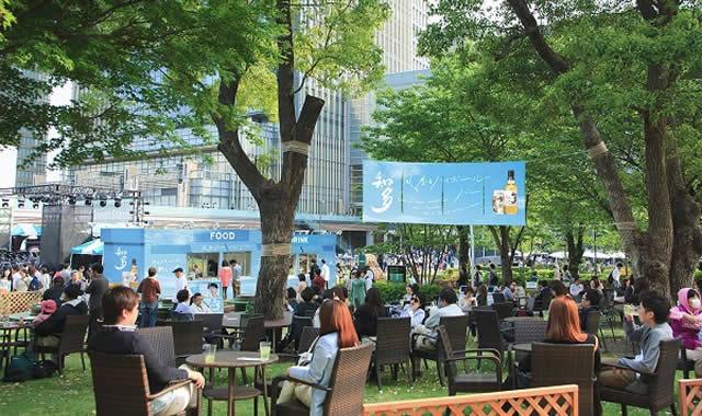 東京ミッドタウンハイボールカフェの画像