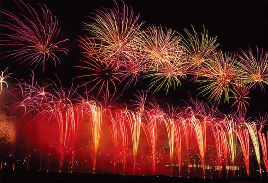 逗子海岸花火大会の画像
