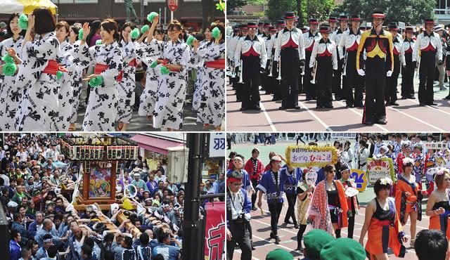 赤羽馬鹿祭りの画像