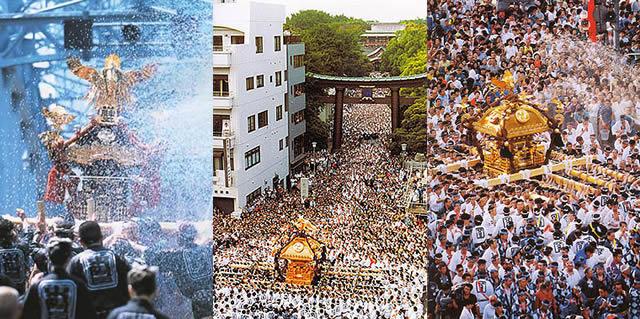 深川八幡祭りの画像