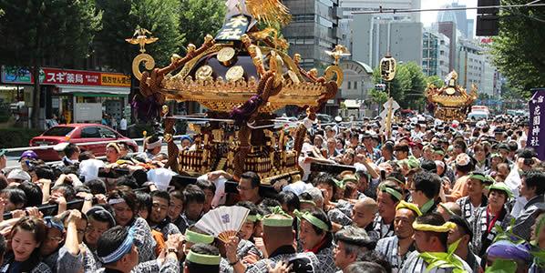 新宿花園神社例大祭画像