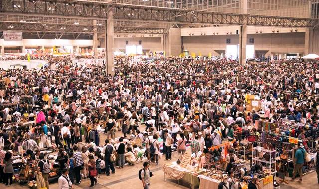 幕張メッセフリーマーケットの画像