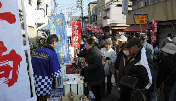 生麦旧東海道まつり(魚河岸祭り)画像