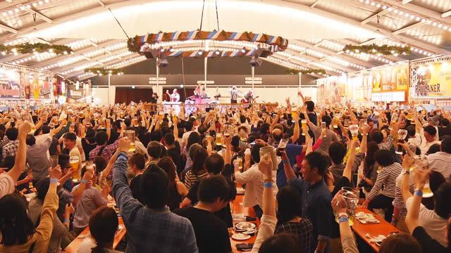 横浜オクトーバーフェスト 赤レンガ倉庫の画像