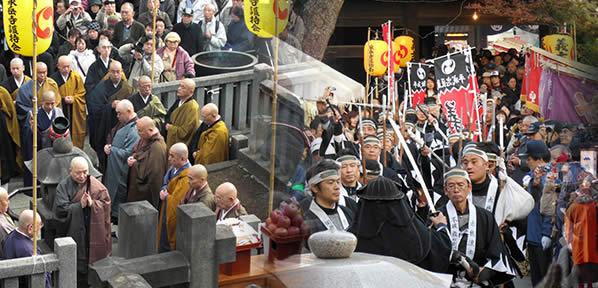 泉岳寺義士祭の画像