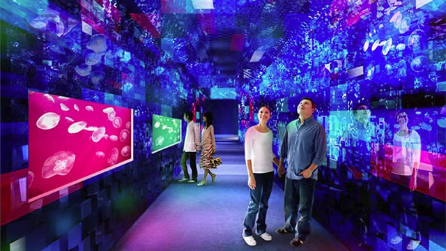 東京スカイツリー・すみだ水族館で「クラゲ万華鏡トンネル」の画像