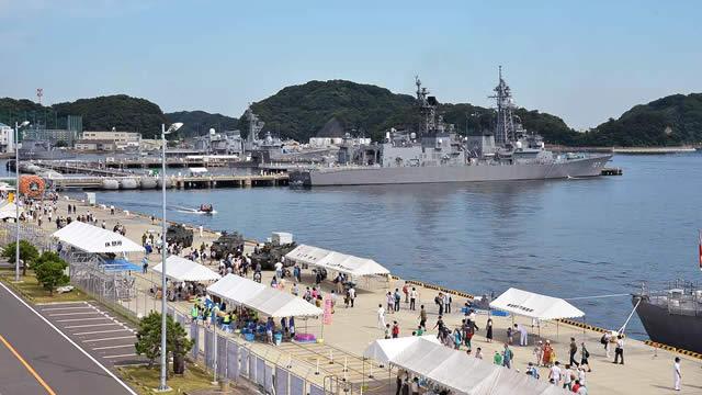 横須賀地方隊サマーフェスタの画像